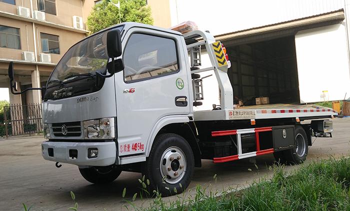 东风D6蓝牌清障车