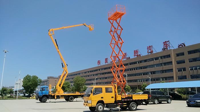 东风多利卡10米升降平台高空作业车