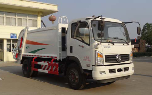 东风天然气8方压缩式垃圾车