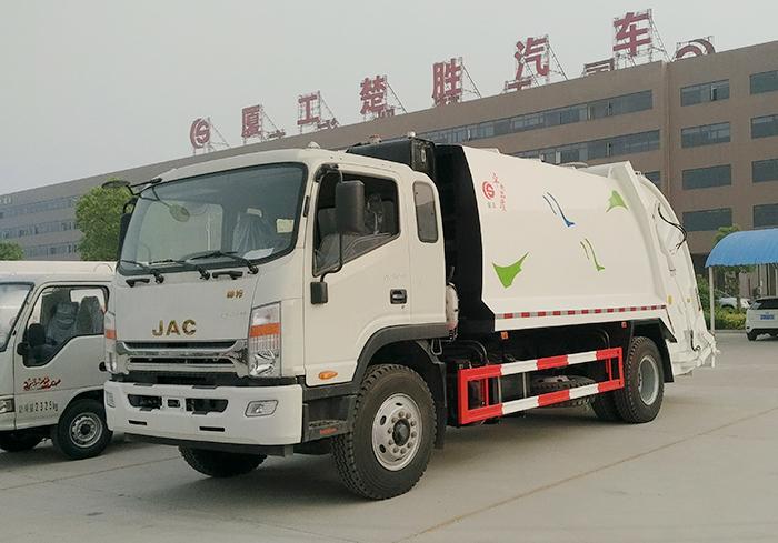江淮威司达12方压缩式垃圾车