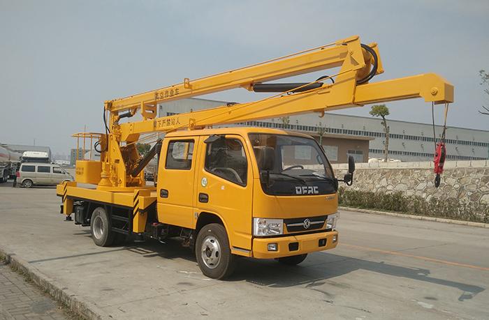 东风多利卡D6双排16米高空作业车
