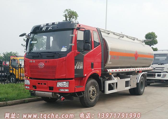解放J6L单桥铝合金加油车