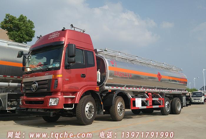 欧曼8*2(前四后六)油罐车营运安全达标已下达