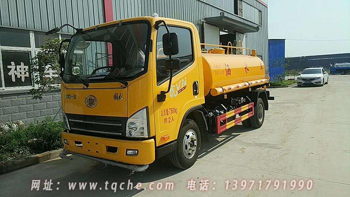 解放虎V5吨洒水车