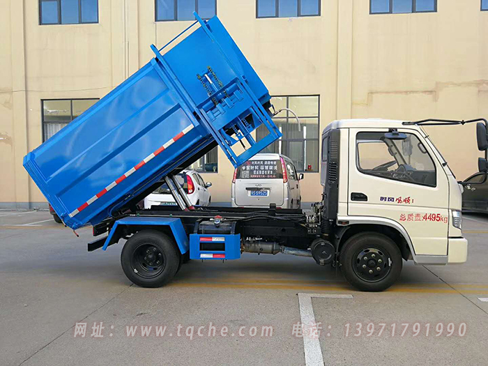 时风风顺蓝牌4方挂桶拉圾车