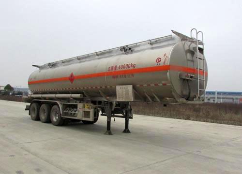 铝合金易燃液体罐式运输半挂车