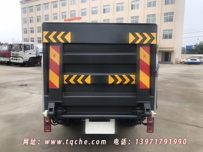 凯马桶装垃圾分类运输车