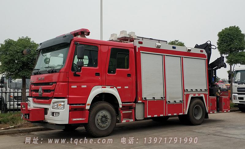楚胜牌CSC5151TXFJY80/Z型抢险救援消防车