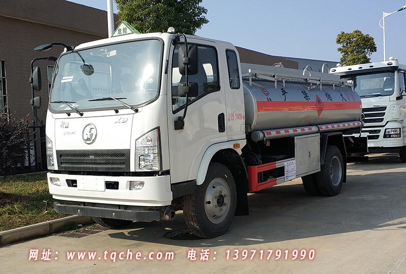 陕汽轩德运油车(加油车)