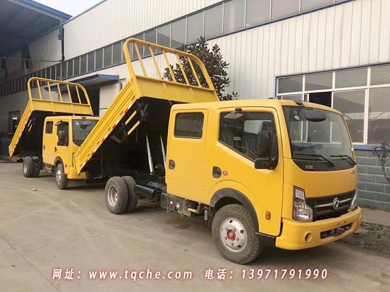 东风凯普特ZD30双排自卸车