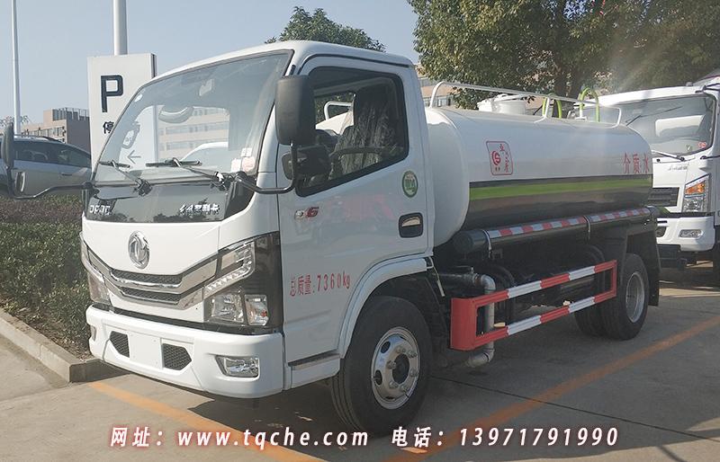 国六免征 东风5吨洒水车