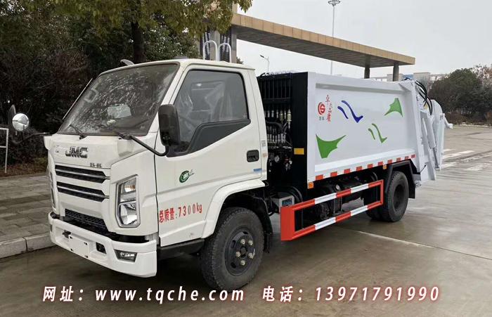 国六江铃顺达N600压缩式垃圾车