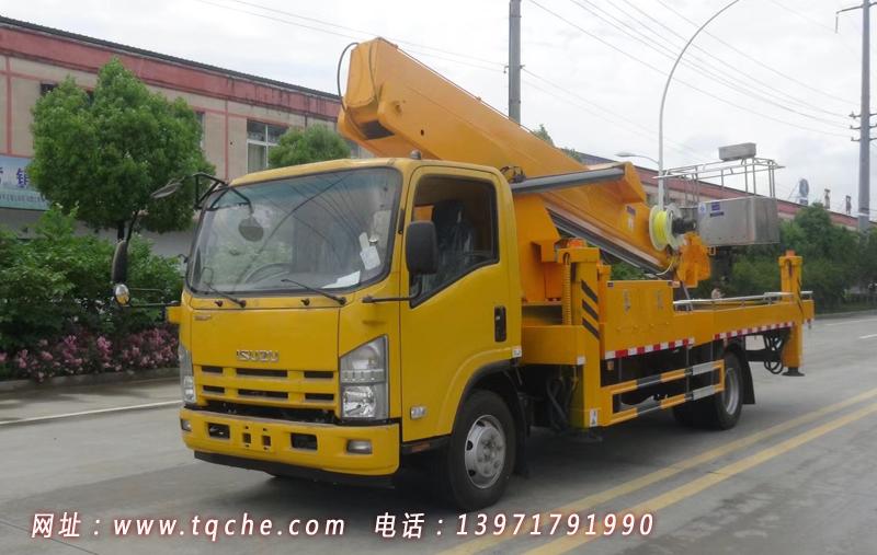 国六五十铃24米伸缩臂式髙空作业车