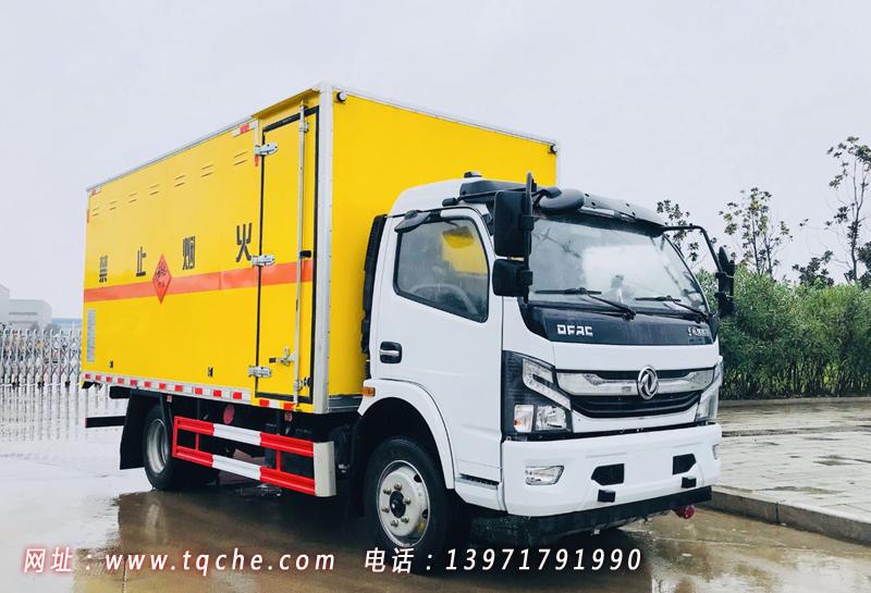 国六东风凯普特爆破器材运输车