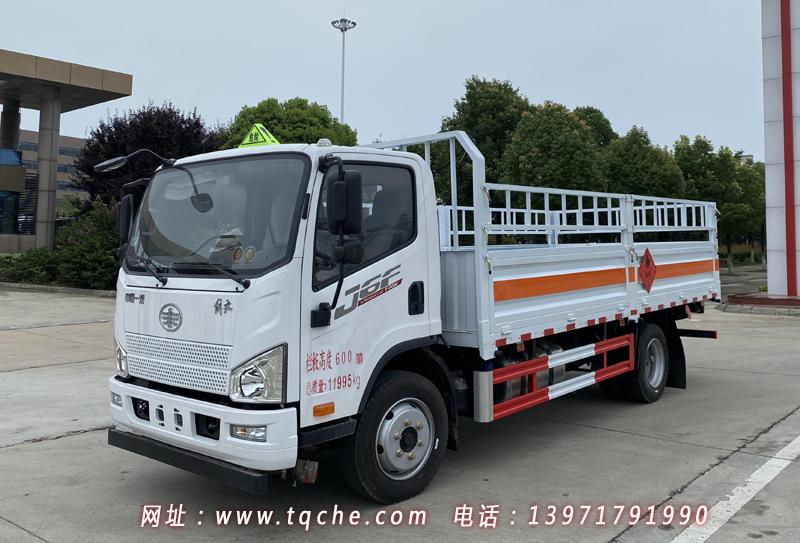 国六解放J6F气瓶运输车