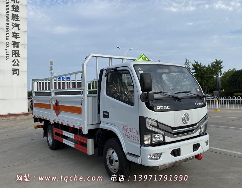 国六东风多利卡D6黄牌气瓶运输车
