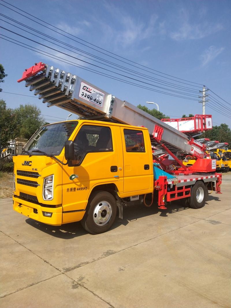 国六江铃32米云梯车